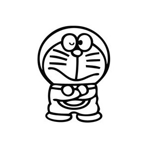 Doraemon Stand Sticker