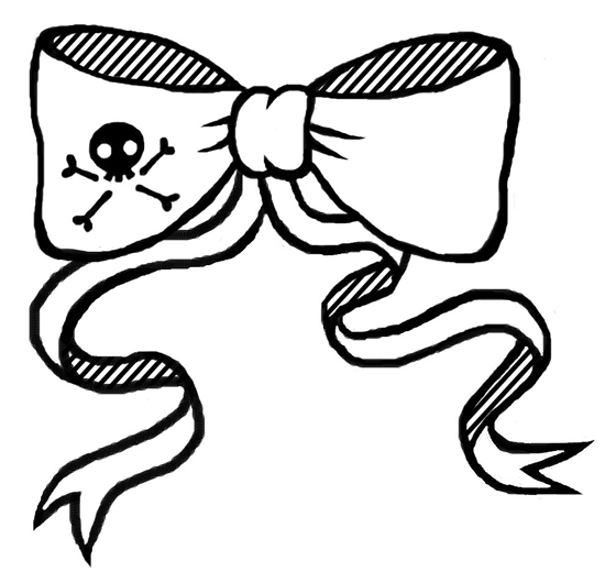 Skull Pirate Bow