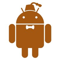 Android Bow Tie Sticker