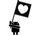 Android Flag Sticker