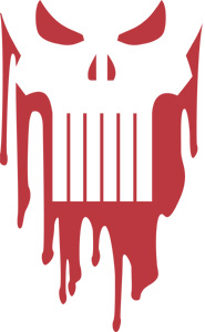 Bloody Punisher Sticker