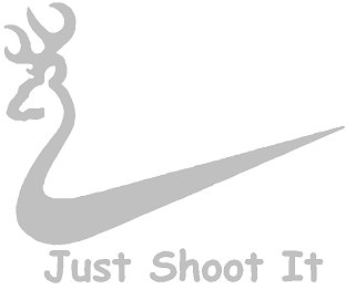 Just Shoot it Sticker