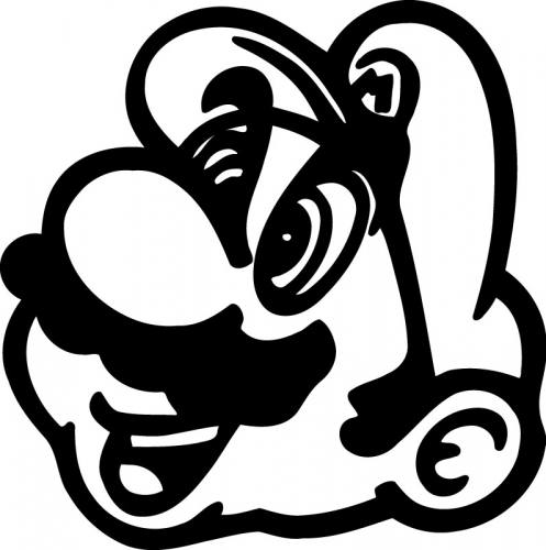 How To Draw Mario Face