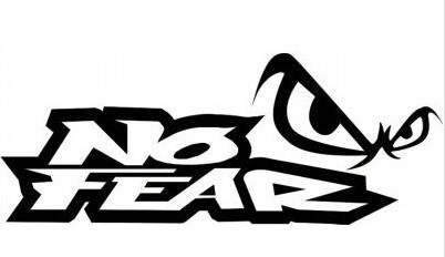i have a no fear sticker nacocoug cougarboard com rh cougarboard com no fear logo image no fear logo skate backpack