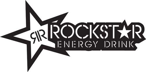 Rockstar Energy Drink Lg Star Sticker Rockstar Drink1